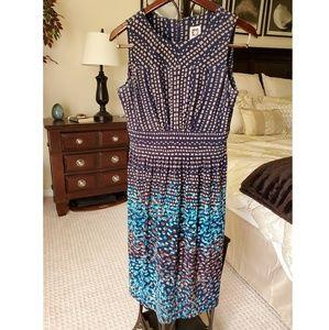 Anne Klein Geometric Sheath Dress